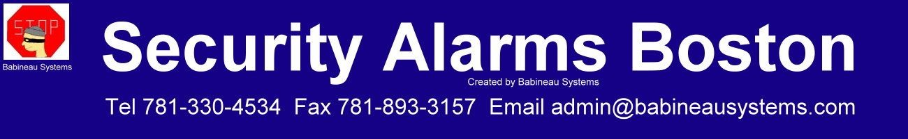 Security Alarms Boston
